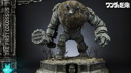 《汪达与巨像》第一巨像雕像细节图及发售日公开 送汪达小人