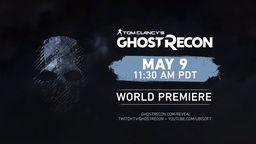 育碧公开《幽灵行动》新作 将于5月10日凌晨正式发表