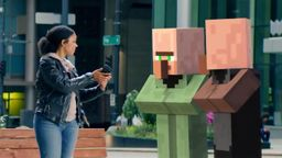 微软推出《我的世界》AR宣传片 相关作品5月17日公布