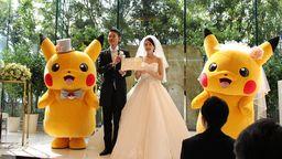 日本公司推出宝可梦主题婚礼 任天堂官网公布大量现场照片