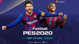KONAMI正式公布《实况足球2020》 9月发售梅西小罗上封面