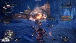 《怪物猎人世界 Iceborne》Beta测试轰龙四人双刀道具流速杀