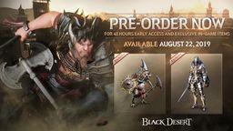 《黑色沙漠》PS4版发售日确定 预购可提前两天抢先体验