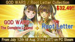 《诸神战争 日本神话大战》+《方根书简》同捆7月12日限时推出