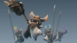 《怪物猎人世界 Iceborne》新生物种族公开 冻土上的奇面族