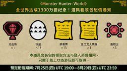 《怪物猎人世界》出货?#40644;?300万 官方送攻击珠等道具礼包
