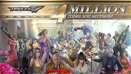 《铁拳7》全球销量突破400万 官方公开庆贺图