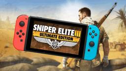 《狙击精英3 终极版》Switch版或将于明日公开游戏发售日