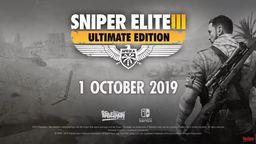《狙击精英3 终极版》NS版将于10月1日发售 添加陀螺仪瞄准