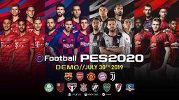 《實況足球2020》公開正式封面 梅西領銜4隊球星齊登場