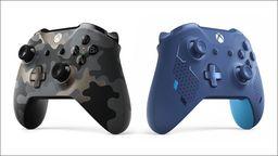 Xbox于科隆皇冠赌球展公布两款全新手柄:暗夜行动和运动蓝