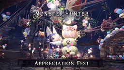 """《怪物猎人世界》连续5周庆典活动最终回""""感谢之宴""""开启"""