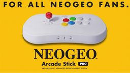 NEOGEO Arcade Stick Pro公開主要特性和詳細收錄游戲列表