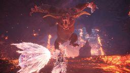 官方玩梗 《怪物獵人世界 Iceborne》金獅子初見上演手撕麒麟