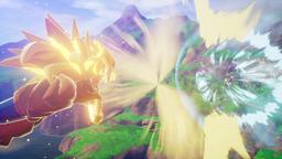 《七龙珠Z 卡卡洛特》新游戏截图公开 当弗利萨遇见超三悟空