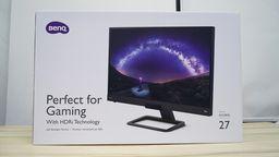 明基EX2780Q显示器开箱:兼具实用功能的游戏向显示器