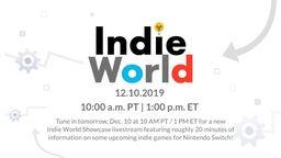 任天堂将于12月11日举办新一期独立游戏直播活动 时长约20分钟