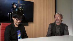 PlayStation公開小島秀夫和麥斯采訪 小島慶祝工作室四周年