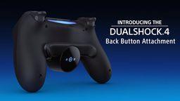 索尼将推出PS4手柄后侧键连接板外设装置 1月16日发售