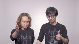 小岛秀夫和新川洋司录制《死亡搁浅》幕后制作花絮