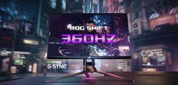 英伟达和华硕推出全球首款360Hz刷新率显示器ROG Swift 360Hz