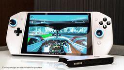 Alienware公開Win10系統掌上游戲設備 造型設計類似Switch