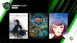 三款游戲即將加入Xbox Game Pass 包含瘟疫傳說 無罪、GRIS等