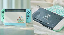 《集合啦!動物森友會》限定版Switch公布 簡潔配色還原游戲風格