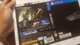 《最终幻想7 重制版》韩版封面设计图泄露 必要硬盘空间100G