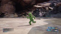 《最终幻想7重制版》特典召唤兽演示影像 仙人掌宝石兽小陆行鸟