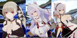 《碧蓝航线Crosswave》新公开一波DLC内容截图 4月起推出
