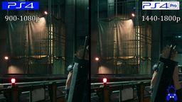 《最终幻想7 重制版》体验版PS4与PS4 Pro画面帧数对比测试
