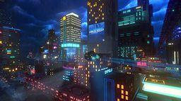 赛博朋克风独立游戏《云朋克》4月24日登陆Steam平台