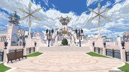 SE发布一套《王国之心3》壁纸 以便视频会议时作为背景使用