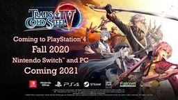 《英雄传说 闪之轨迹4》将于2021年登陆Switch和PC平台