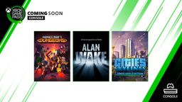 《心灵杀手》《城市 天际线》现已加入Xbox Game Pass