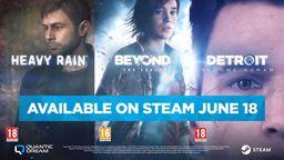 《暴雨/超凡双生/底特律 成为人类》将于6月18日登陆Steam