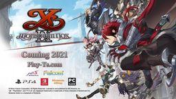 《伊苏9》美版将于2021年内推出 除PS4外追加登陆NS/PC