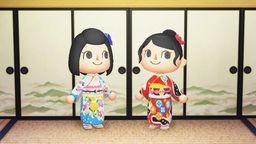 京都和服老店千總分享《集合啦!動物森友會》精美和服設計碼