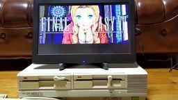 日本玩家用PC8801實機再現《最終幻想7 重制版》片段