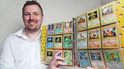 英國男子20年前的全套初代寶可夢卡牌被估值3萬5千英鎊