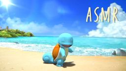 """寶可夢推出官方ASMR""""杰尼龜在海邊的一天"""" 幫助各位舒緩情緒"""
