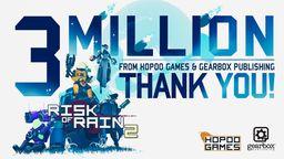 《雨中冒險2》玩家人數突破300萬 官方發布感謝推文