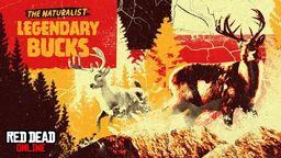《荒野大镖客2》在线模式推出传说踏泥公鹿和传说白雪公鹿