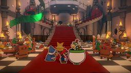《紙片馬力歐 折紙國王》流程圖文攻略綠色神祇膠帶酷霸王城堡