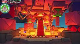《紙片馬力歐 折紙國王》流程圖文攻略綠色神祇膠帶桑拿火山口和折紙城堡
