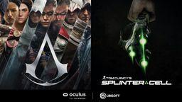 《刺客信条》《细胞分裂》VR游戏开发中 独占登陆Oculus VR