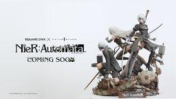 P1S与SE合作推出全新雕像系列 第一弹为《尼尔 自动人形》