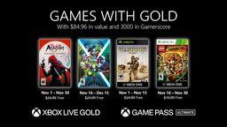Xbox金会员2020年11月会免游戏:荒神暗影版、乐高夺宝奇兵等