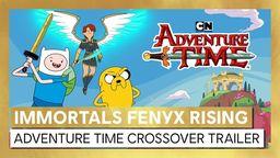 《渡神纪 芬尼斯崛起》和动画《探险时光》推出联动宣传片